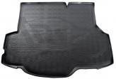 Резиновый коврик в багажник Ford Fiesta (JA8) sedan 2012- Unidec
