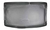 Резиновый коврик в багажник Hyundai i20 (PB) HB 2008- Unidec