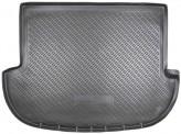 Резиновый коврик в багажник Hyundai Santa Fe 2006-2012 (только 5 мест) Unidec