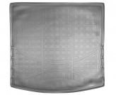 Резиновый коврик в багажник Mitsubishi Outlander 2012- Unidec