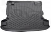 Резиновый коврик в багажник Mitsubishi Pajero III (2000-2006) (5 дв) Unidec