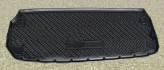 Резиновый коврик в багажник Nissan Pathfinder (R52) 2014- (разложенный 3 ряд) Unidec