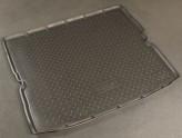 Резиновый коврик в багажник Opel Zafira B 2005- (5/7 мест) Unidec
