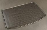 Резиновый коврик в багажник Renault Megane III HB 2009- Unidec