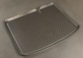 Резиновый коврик в багажник Renault Sandero HB 2008- Unidec