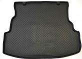 Резиновый коврик в багажник Renault Symbol sedan 2008-