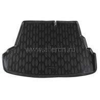 Резиновый коврик в багажник Hyundai Accent sedan (Optima, Comfort) Aileron