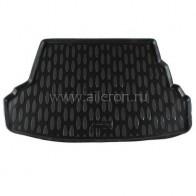Резиновый коврик в багажник Hyundai Accent sedan (Base, Standart) 2010- Aileron