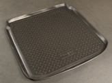Unidec Резиновый коврик в багажник Seat Toledo sedan 2005-2009