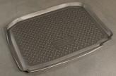 Unidec Резиновый коврик в багажник Skoda Fabia HB 2007-