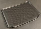 Unidec Резиновый коврик в багажник Skoda Roomster 2006-