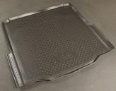 Unidec Резиновый коврик в багажник Skoda Superb sedan 2008-