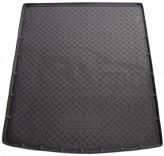 Резиновый коврик в багажник Skoda Superb Combi 2008-
