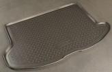 Резиновый коврик в багажник Subaru Impreza HB 2007- Unidec