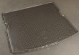 Резиновый коврик в багажник Ssang Yong Kyron 2007- Unidec