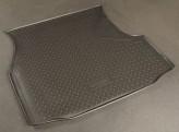 Unidec Резиновый коврик в багажник Volkswagen Passat B3 B4 sedan 1988-1996