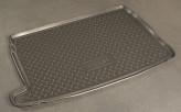 Резиновый коврик в багажник Volkswagen Polo HB 2009-