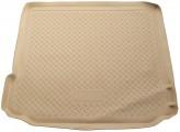 Unidec Резиновый коврик в багажник BMW X5 (E70) БЕЖЕВЫЙ