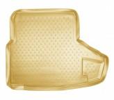 Unidec Резиновый коврик в багажник Lexus IS sedan 2005- БЕЖЕВЫЙ