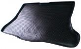 Резиновый коврик в багажник Nissan Tiida HB