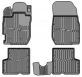 Глубокие резиновые коврики Renault Duster 2015-2018