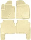 –езиновые коврики Hyundai Santa Fe 2010-2012 Ѕ≈∆≈¬џ≈