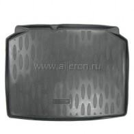 Резиновый коврик в багажник Skoda Fabia HB 1999-2014