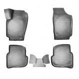 –езиновые коврики Volkswagen Polo (SD) 2010- 3D