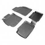 Резиновые коврики Toyota Auris (E15J,E15UT) 2006-2012