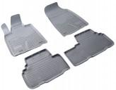 Резиновые коврики Lexus RX 2009-2015 СЕРЫЕ Unidec