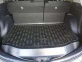 Резиновый коврик в багажник Toyota Rav-4 2012-2018 (с полноразмерной запаской)