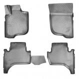 Unidec Резиновые коврики Mitsubishi L200 3D 2007-