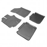 Резиновые коврики Toyota Venza 2013-