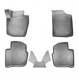 Резиновые коврики Skoda Rapid 3D (NH) 2013-