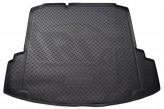 Резиновый коврик в багажник Volkswagen Jetta sedan 2010- (с ушами) Unidec