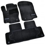 Beltex Коврики в салон Mercedes GLE ML (W166) 2011- текстильные (Premium)