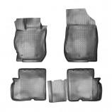 Резиновые коврики Nissan Almera 3D 2012-