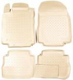 Unidec Резиновые коврики Nissan Tiida 2004-2014 БЕЖЕВЫЕ
