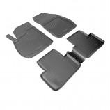 Резиновые коврики Opel Zafira C 3D 2012- (5 мест)  Unidec