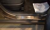 Nataniko Накладки на пороги Kia Sportage 2015- (Premium)