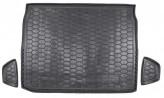 Резиновый коврик в багажник Renault Kadjar 2016- AvtoGumm