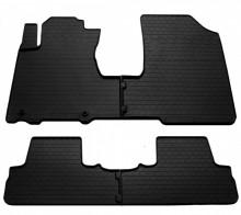 Резиновые коврики Honda CR-V 2006-2012 (без пластика под пассажирской сиденьем)