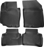 Глубокие резиновые коврики в салон Suzuki Vitara 2014- L.Locker