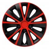 Колпак Rapid red-black R14 (Комплект 4 шт.) Elegant