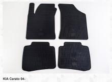 Резиновые коврики Kia Cerato 2004-2009