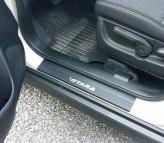 Nataniko Накладки на пороги Suzuki Vitara 2015- (Сarbon)