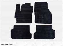 Резиновые коврики Mazda 3 2003-2009