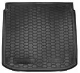 AvtoGumm Резиновый коврик в багажник Seat Altea XL нижний