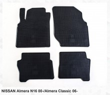 Резиновые коврики Nissan Almera Classic