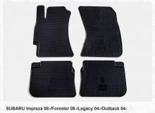 Stingray Резиновые коврики Subaru Forester 08-12 Legacy Outback 04-09 Impreza 07-12